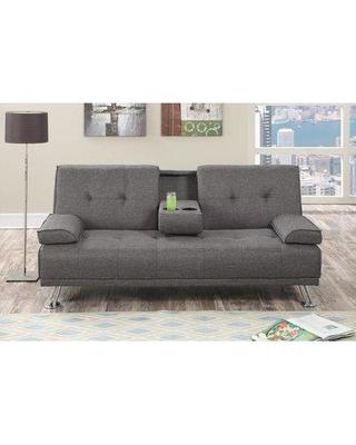 Latitude Run Ackerman Adjustable Convertible Sofa BF186133