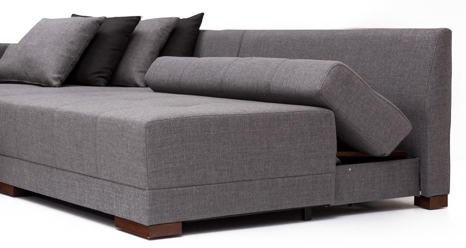 grey convertible sofa beds