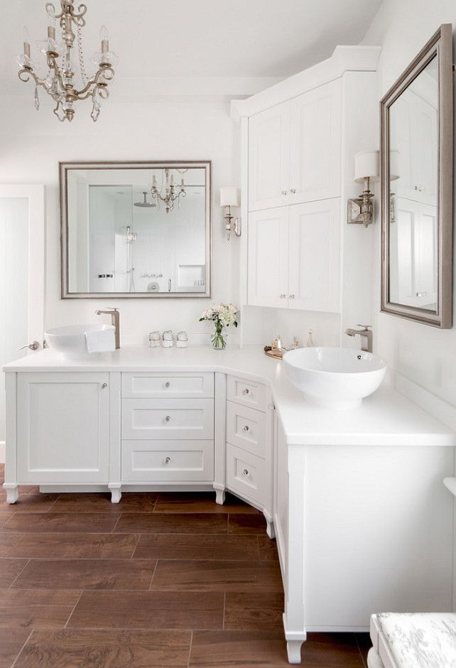 Corner Bathroom Vanity Design