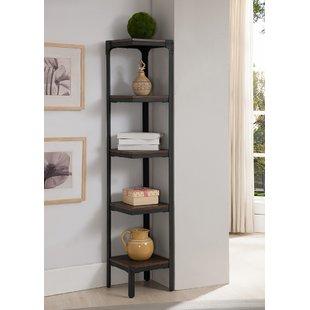 5 Tier Corner Bookcase