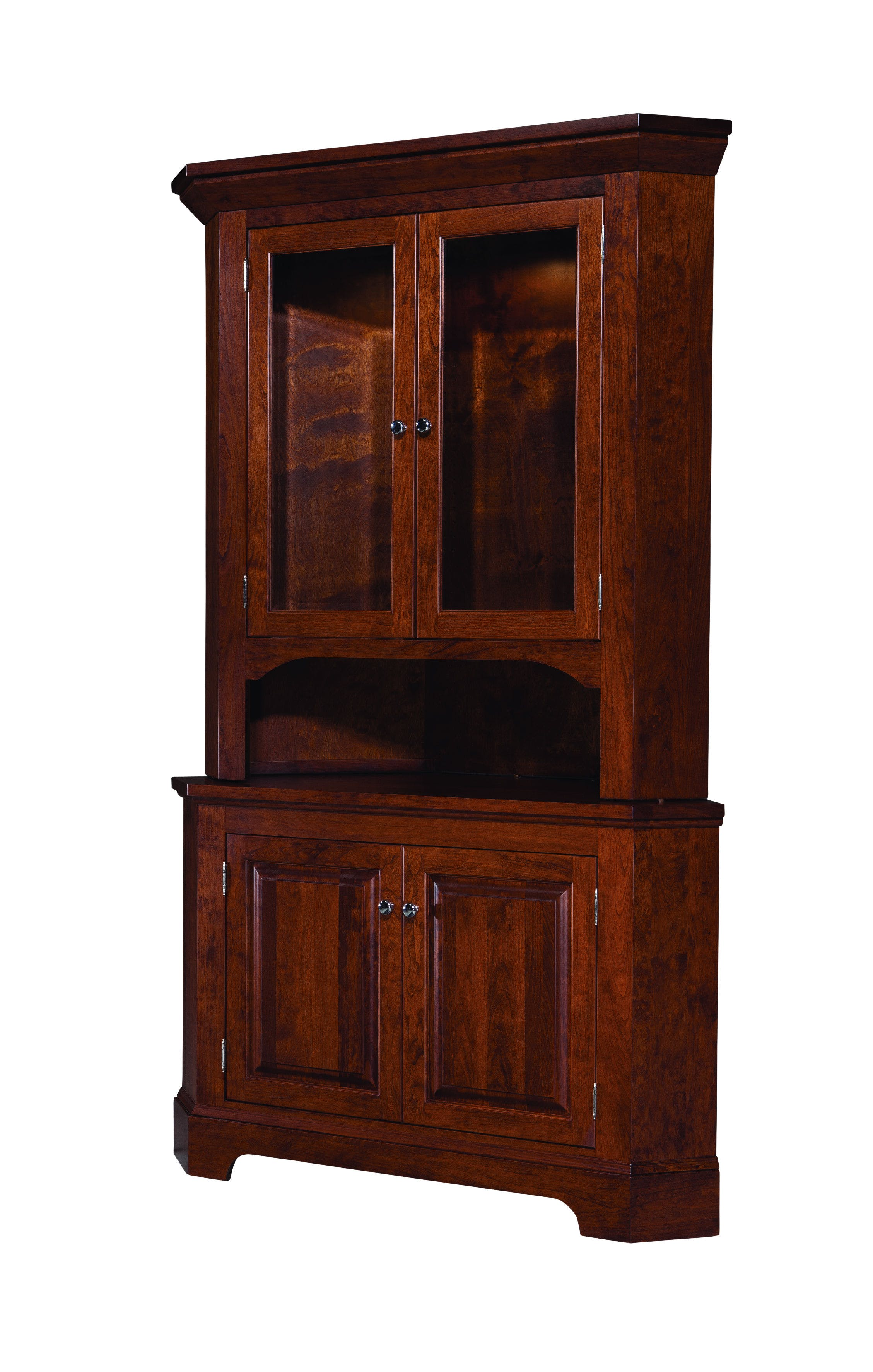 Palettes by Winesburg Albany Corner Hutch PWGABCHUT from Walter E. Smithe  Furniture + Design