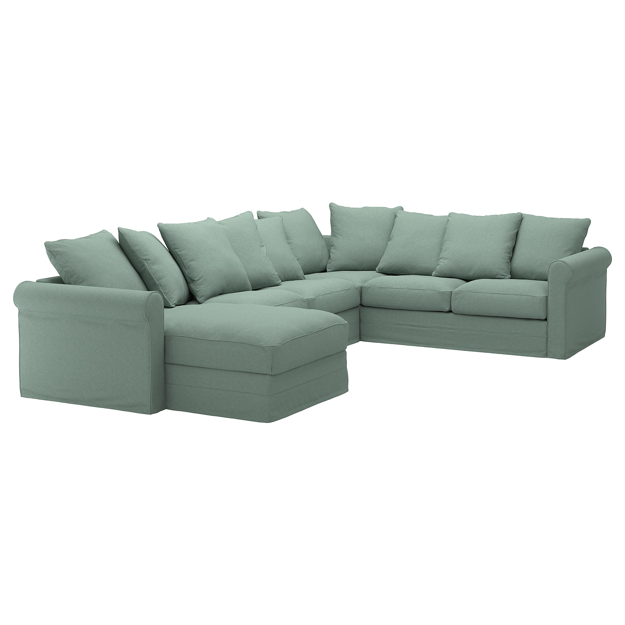 IKEA GRÖNLID corner sofa, 5-seat 10 year guarantee. Read about the terms