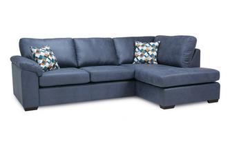 Quick View Left Hand Facing Arm Open End Deluxe Corner Sofa Bed Condor