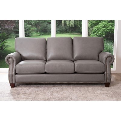 Helena Top-Grain Leather Sofa