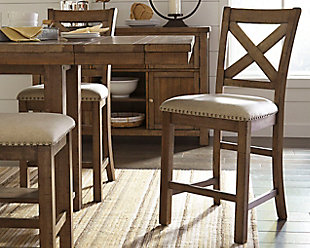 large Moriville Counter Height Bar Stool, , rollover