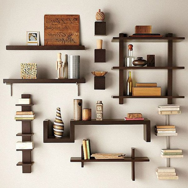 Creative Design Ideas Wall Bookshelves - 60 Creative Bookshelf Ideas