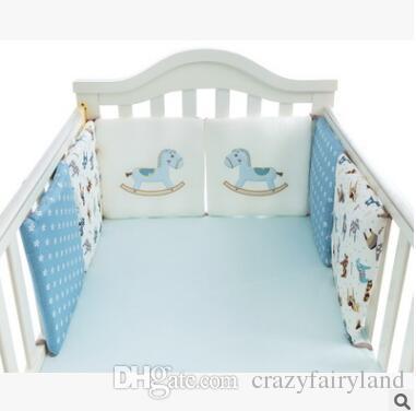 Cartoon Animal Crib Bumper Baby Bed Bumper In The Crib Cot Bumper Baby Bed  Protector Crib Bumpers Newborn Toddler Bed Bedding Set Twin Bedding Sets  Boys