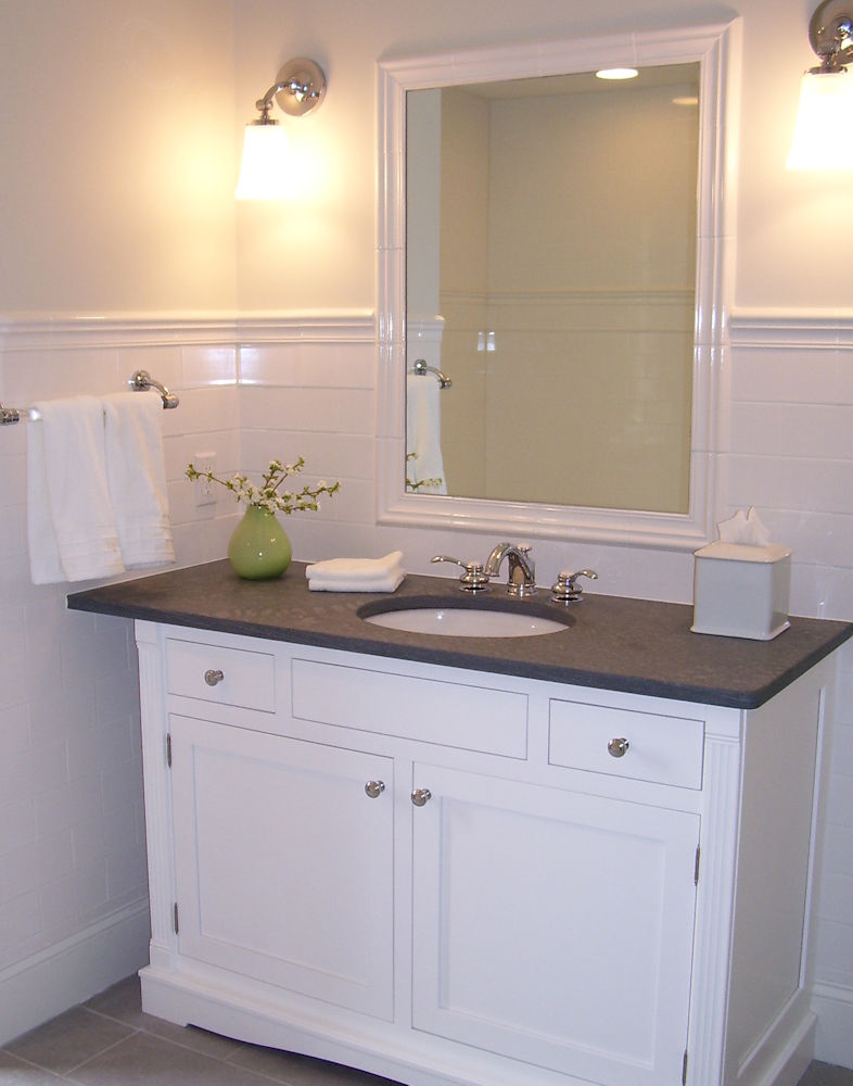 North Shore Custom-designed Bathroom Vanity by Carole