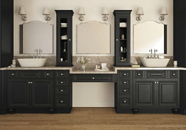 Bathroom Vanities Order Sample Doors. Save Time Ready to Install Semi-Custom  Hassle Free