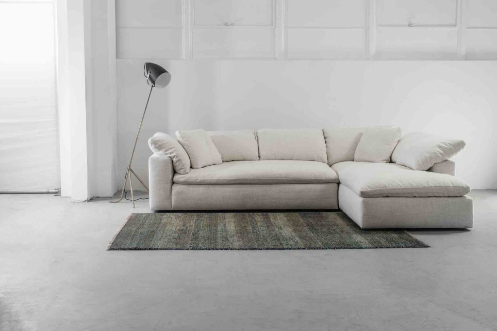 Nuage Custom Sectional Sofa Chaise