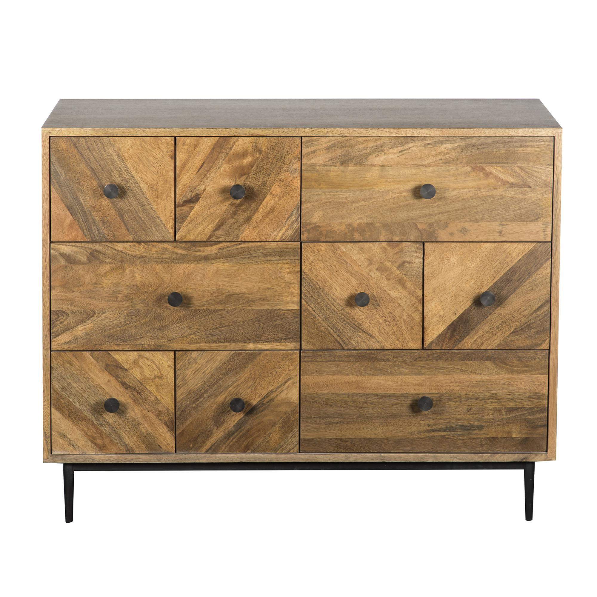 Finchley Multi Drawer Chest. loz_exclusive_to_dunelm
