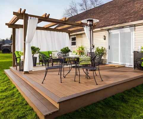 Small Deck Ideas #Deck (Backyar design idesa) Tags: Small Deck Ideas on a  budget, Small Deck diy, backyard ideas, deck decorating ideas