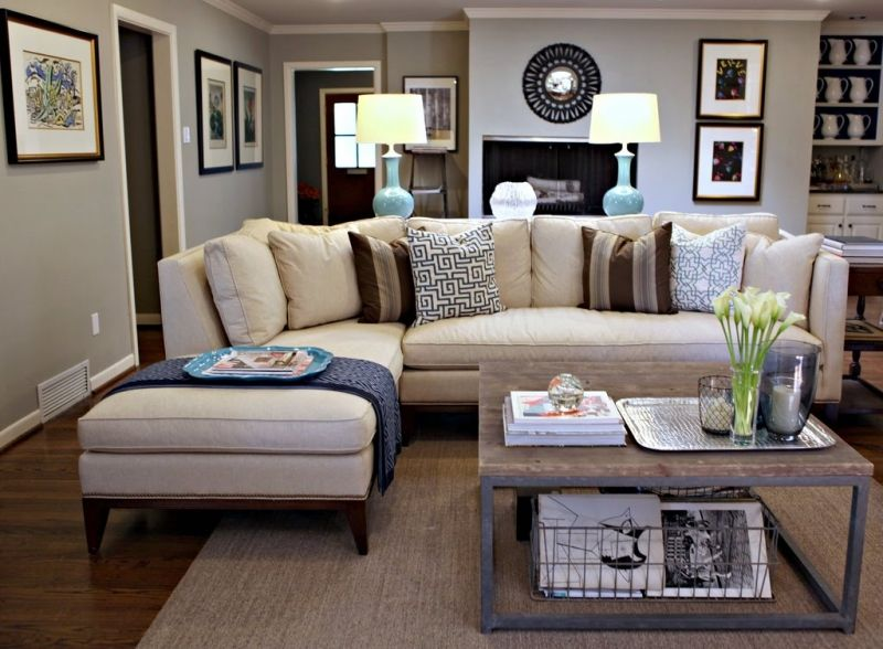 Living Room Decorating Ideas on a Budget - Living Room. Love this!