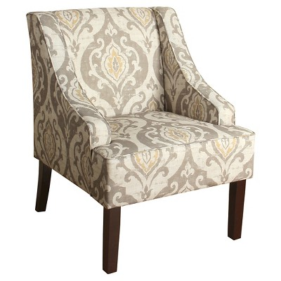 Finley Swoop Arm Accent Chair - HomePop
