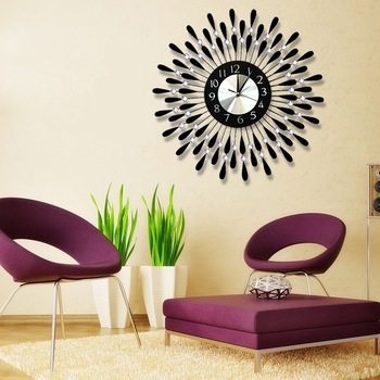 Fashion beautiful wall clocks customized decorative wall clock