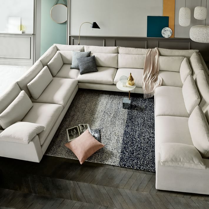 Build Your Own - Harmony Down-Filled Sectional Pieces (Extra Deep) | west  elm