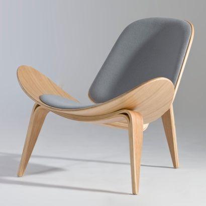 Hans J. Wegner- shell lounge chair | Furniture Design | Chair Design | Designer  Chair