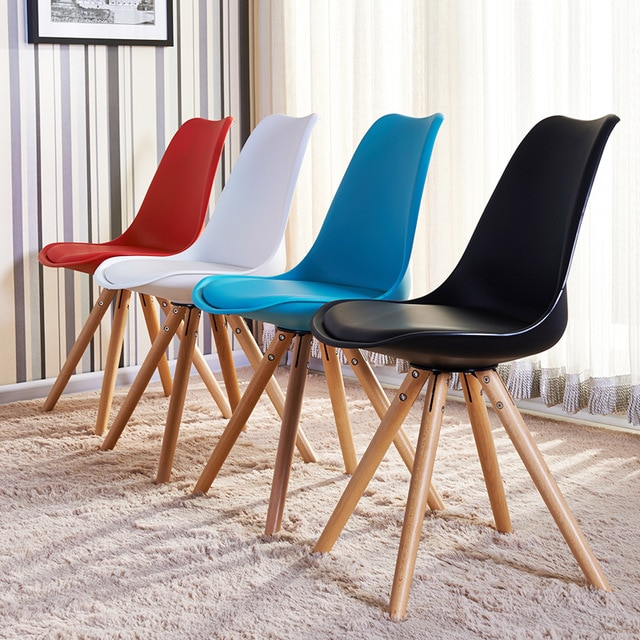 furnitureThe modern recreational chair, solid wood feet plastic