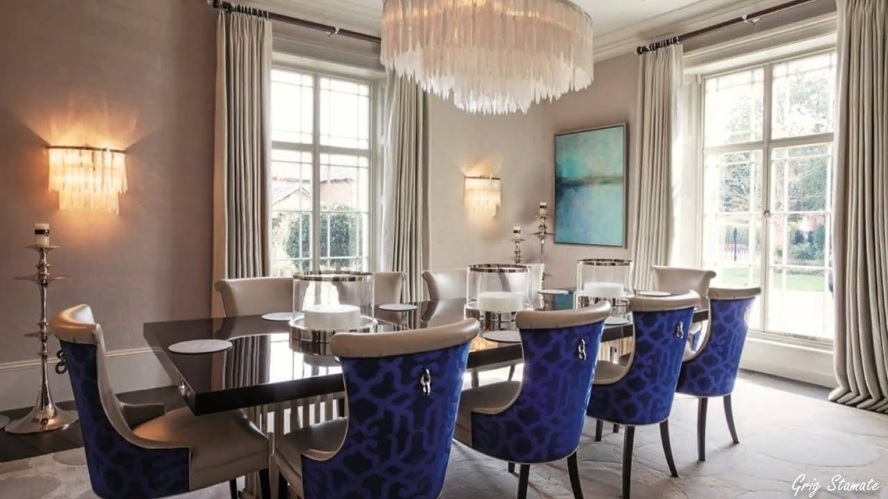 Luxurious Formal Dining Room Design Ideas, Elegant Decorating Ideas for Dining  Room - YouTube