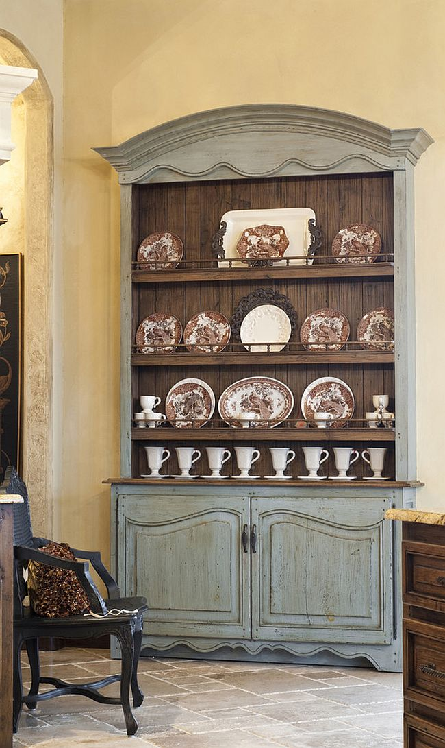 View in gallery Dining room hutch is the perfect place to showcase your  best china come holiday season and