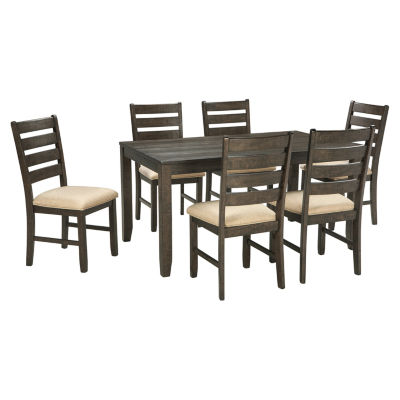 Signature Design by Ashley® Linwood 7-Piece Rectangular Dining Set -  JCPenney