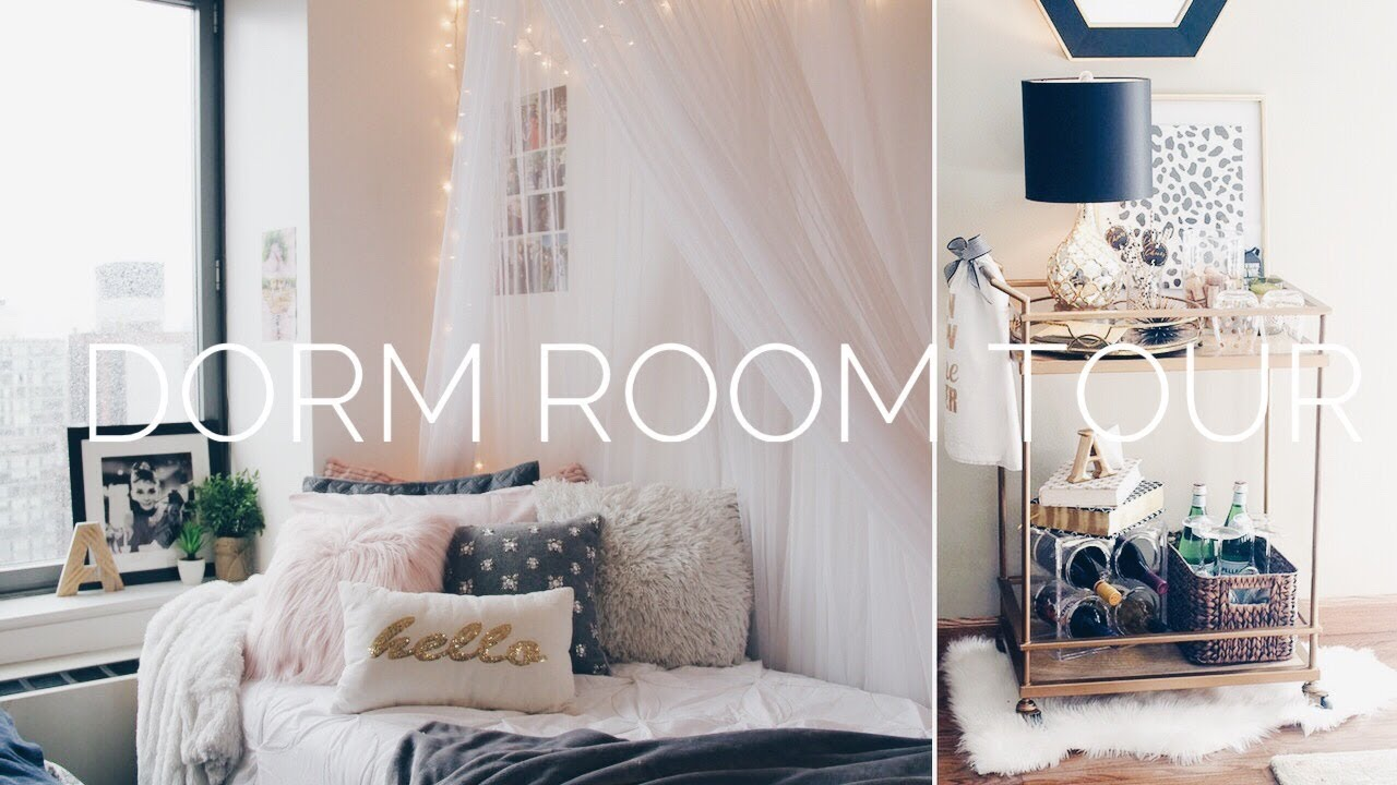 college room decor ♡ small dorm room tour | NYU Gramercy