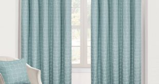 Girona Duck Egg Ready Made Eyelet Curtains. Expand