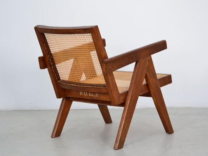 "1952_ ""easy"" armchair by Pierre Jeanneret"