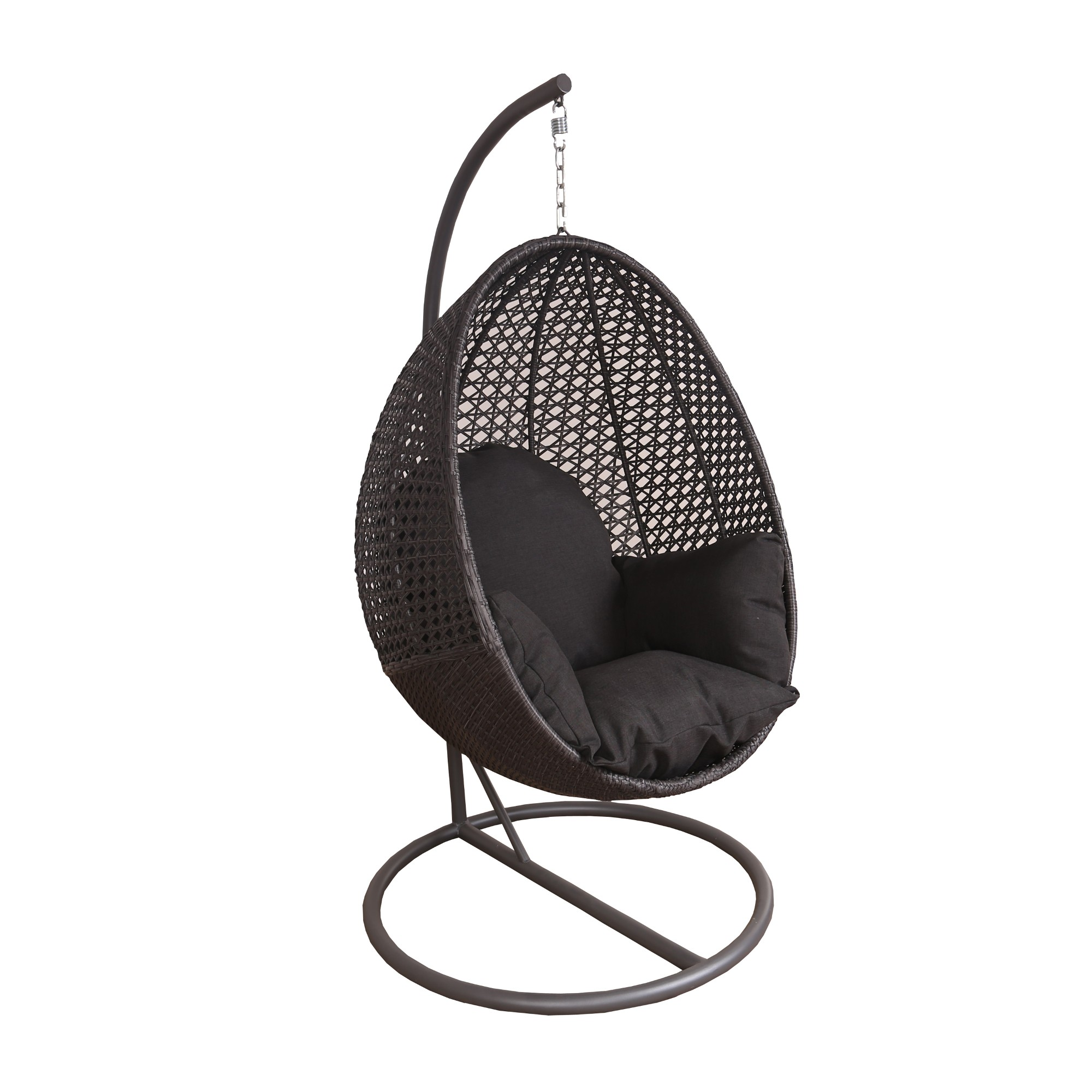 Peter Pod Hanging Egg Chair - Charcoal - Gift Guide: $100 and Up - Gift  Guide - Sale & Seasonal | Barbeques Galore