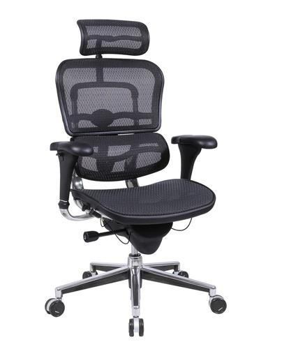 Eurotech ME7ERG Ergohuman Mesh Ergonomic Chair w/ Headrest