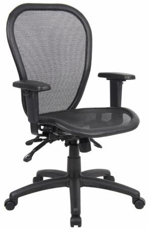 Boss Ergonomic Open Mesh Office Chair [B6018] -1