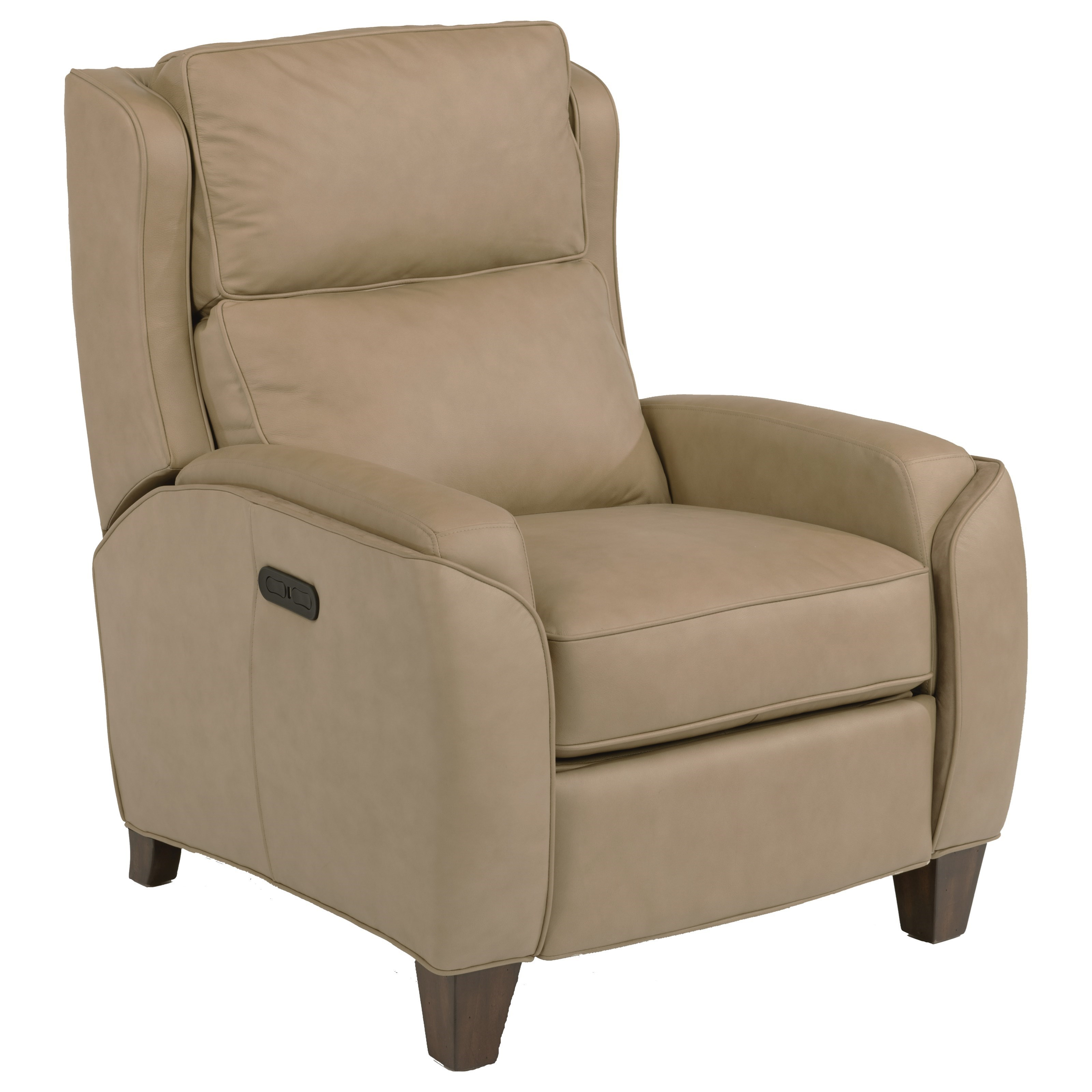 Flexsteel Latitudes-Rose Power High Leg Recliner with Power Tilt