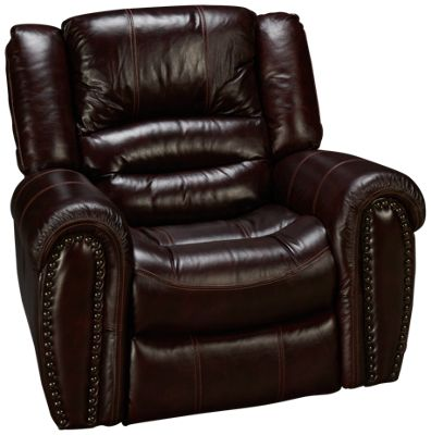 Flexsteel-Crosstown-Flexsteel Crosstown Power Leather Recliner