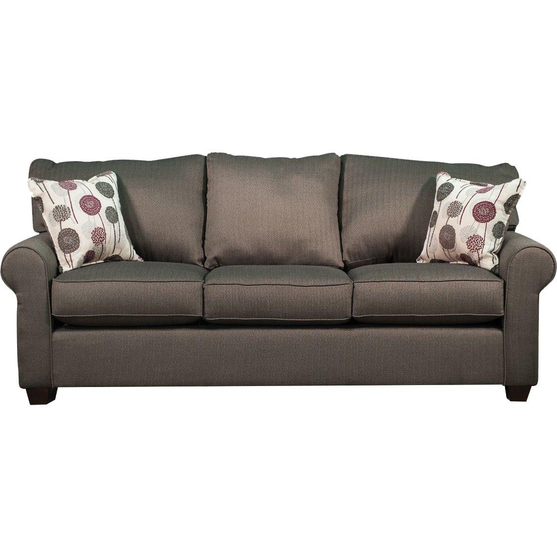 Casual Contemporary Slate Sofa - Seaside