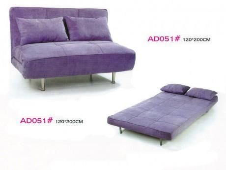 Folding sofa bed, with the fold-out sofa mattress (AD051), Flip out sofa  beds look like they could be more comfortable than traditional sofa beds  with thin