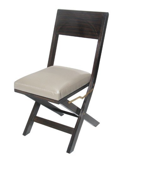 Padded folding dining chairs