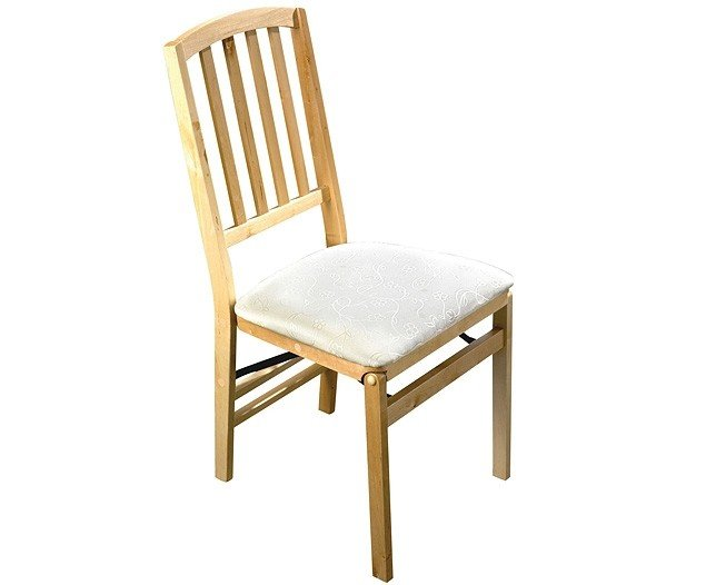 Folding dining chair beech 2 recode stylish dining chairs