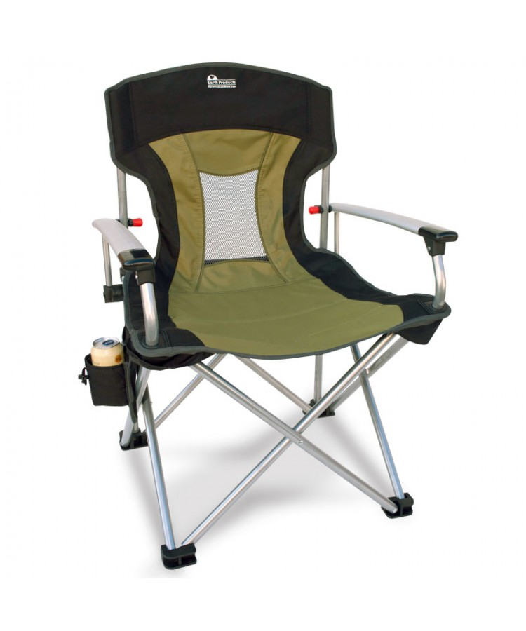 New Age vented back outdoor aluminum Chair from Innovative Earth products