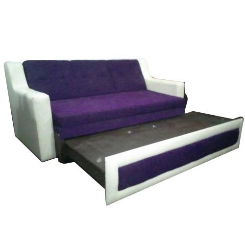 Leather Folding Sofa Cum Bed