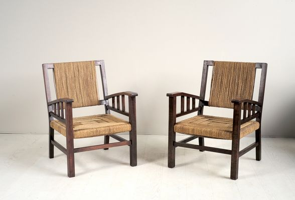 French Armchairs by Francis Jourdain, 1930s 1