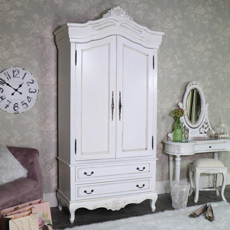 Large Double Armoire French Wardrobe - Limoges Range
