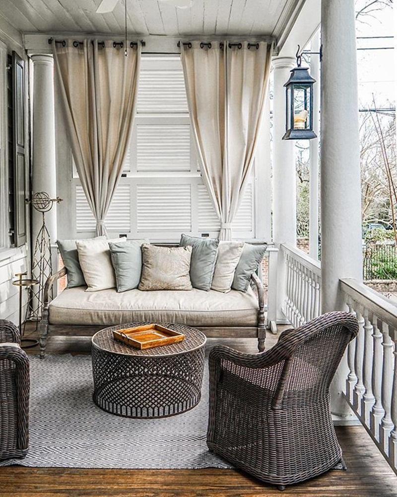 Best Wicker Front Porch Furniture Ideas