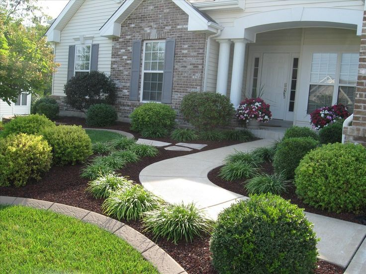 20 Simple But Effective Front Yard Landscaping Ideas | Landscaping for Home  | Pinterest | Front yard landscaping, Front yard walkway and Front yard  decor