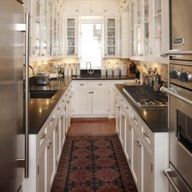 U-Shaped Galley Kitchen