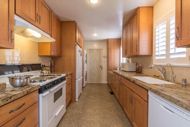 San Diego Galley Kitchen Remodel farmhouse-kitchen