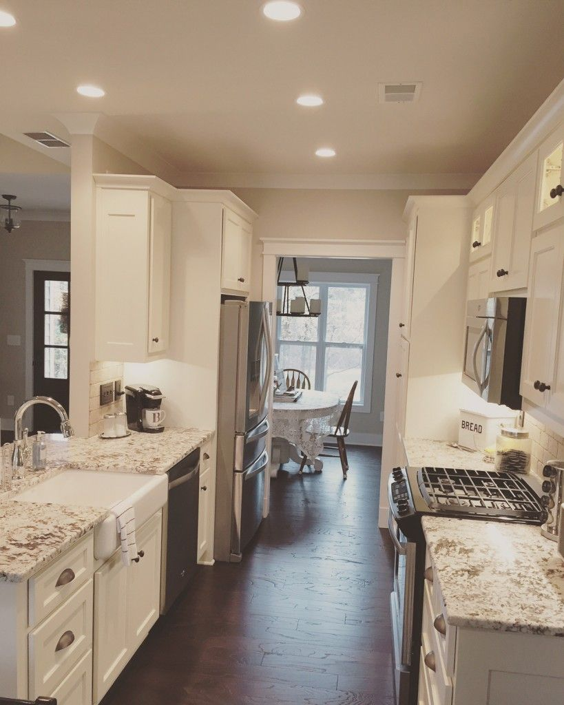 Kitchen layout - Galley kitchen from The Runnymeade #1164