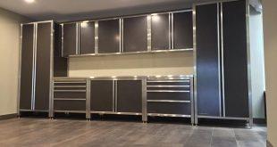 Matching Garage Cabinets to Custom Garage Flooring
