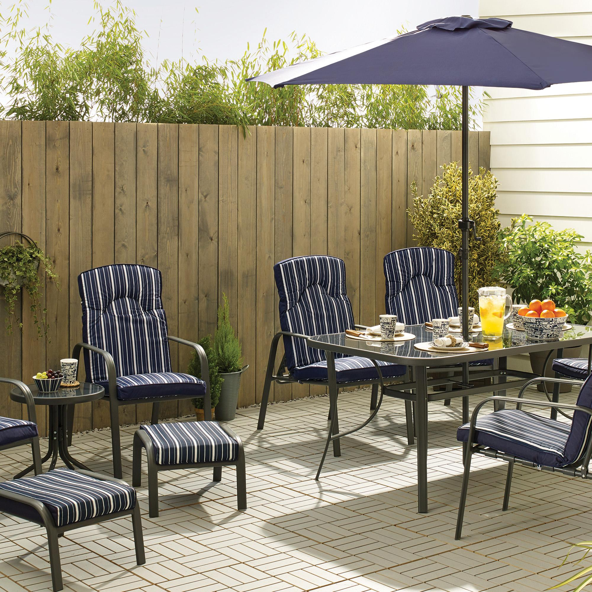 Hampton Navy 11 Piece Dining Set. loz_exclusively_online