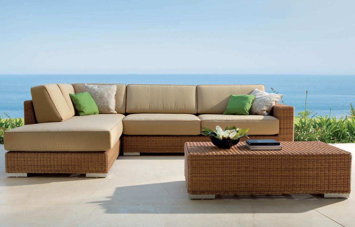 Golf Corner Garden Sofa