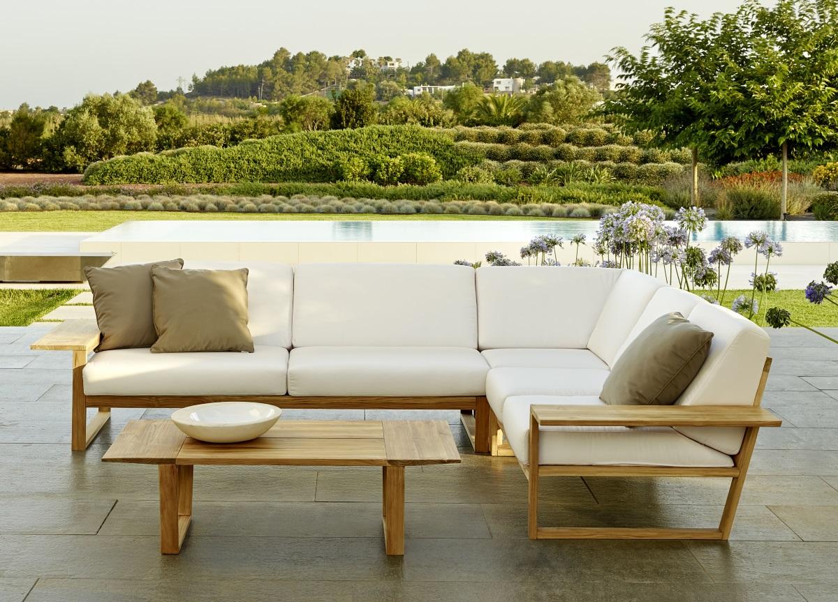 Lineal Corner Garden Sofa